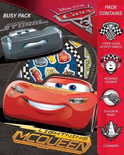 disney pixar cars sticker activity book with 200 stickers set by anon sticker books at the works disney pixar cars 3 busy pack stickers colouring wipe clean activity sheets set kids the home