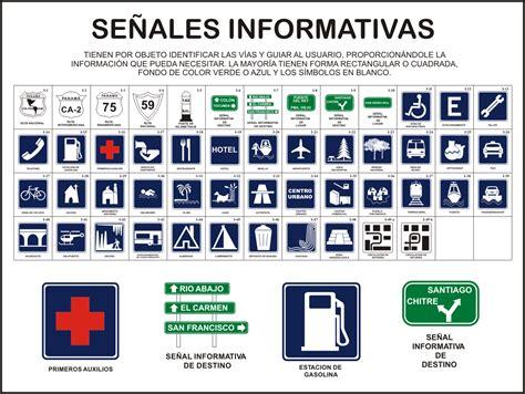 Imagenes Señales Informativas De Transito | se 241 ales informativas de transito imagui
