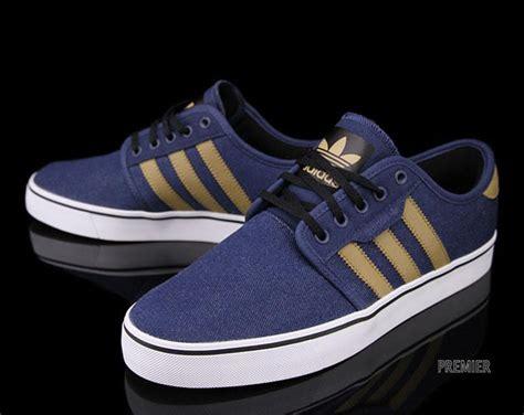 adidas skateboarding seeley blue craft canvas