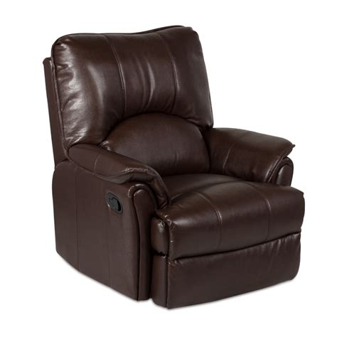 Recliner To by Leather Recliner Sofa 1 Seater Dionis Brown Price