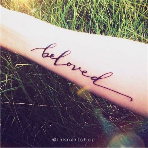 beloved tattoo 25 best ideas about beloved on script