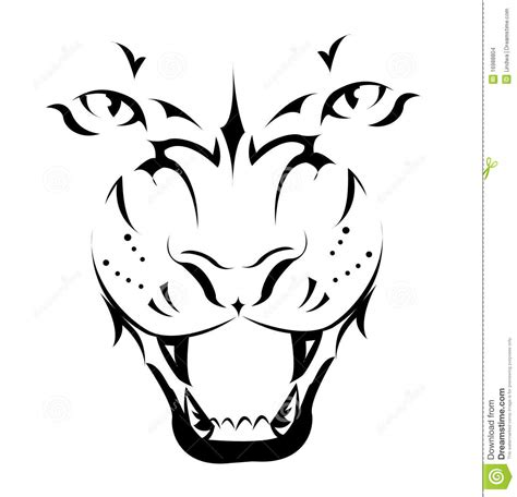tiger tattoo stock images image 16988804