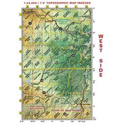 sw colorado map southwest colorado trails recreation topo map latitude