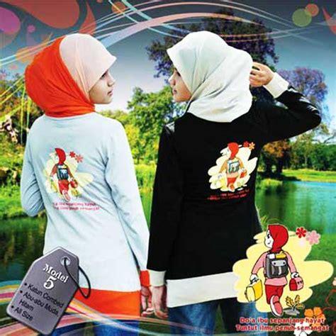 Qirani Lotus 05 Baju Kaos Anak qirani all season s trendy busana muslim remaja