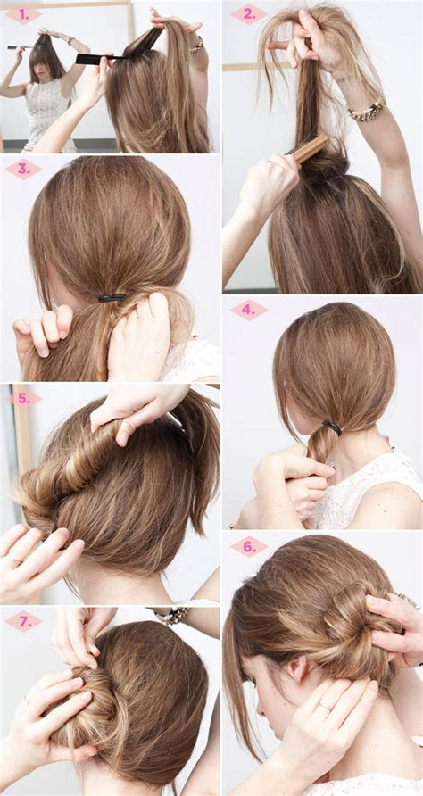 5 minute hairstyles for medium length hair 27 easy five minutes hairstyles tutorials pretty designs