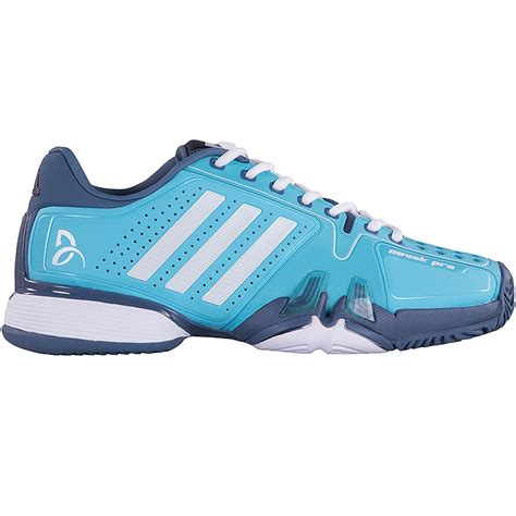 adidas novak pro s tennis shoes blue white