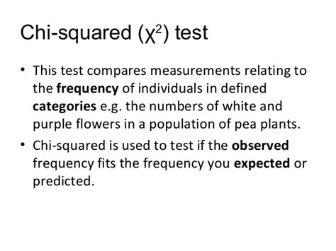 chi test chi squared test