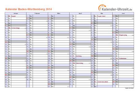 Kalender 2014 Feiertage Feiertage 2014 Baden W 252 Rttemberg Kalender