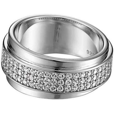 Esprit 557 Ring Silver by Esprit Esrg91437a Damen Ring Silber Curve 53 17