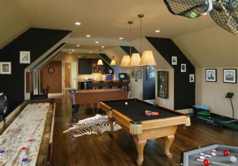 Creating A Basement Game Room: 4 Tips And 26 Examples