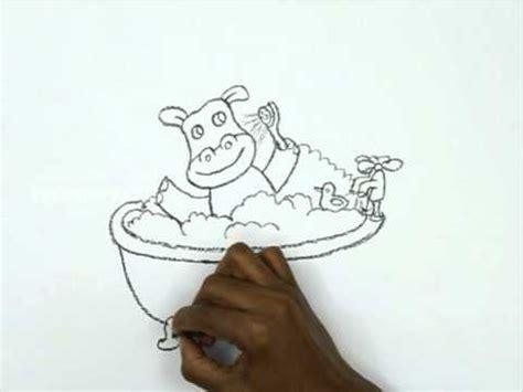 How To Draw A Bathtub by How To Draw A Bathtub