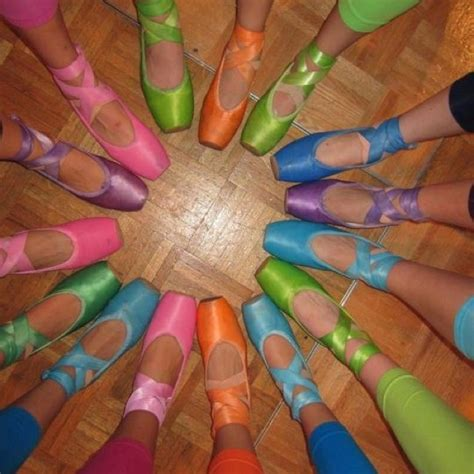 colored pointe shoes 24 best images about pointe shoes on