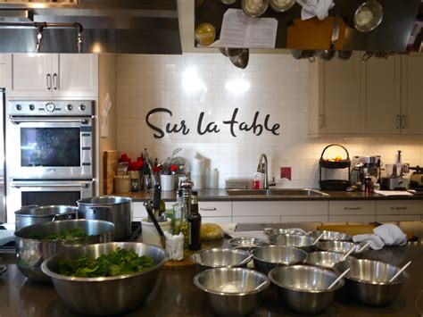 sur la table kitchen island an education staycation in sd 2016 cooking classes