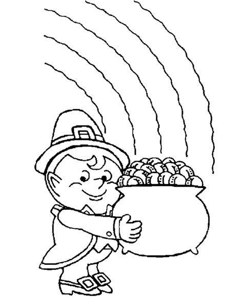 st patricks coloring pages coloring town
