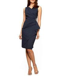 alex evenings side ruched dress plum s alex evenings dresses from 90