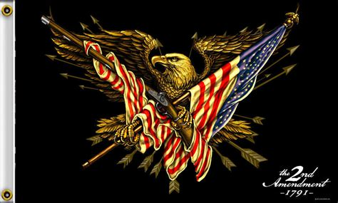 Does Walmart Sell American Eagle Gift Cards - 2nd amendment 1791 eagle gun and american flag 3 x 5 flag with grommets 1058 ebay