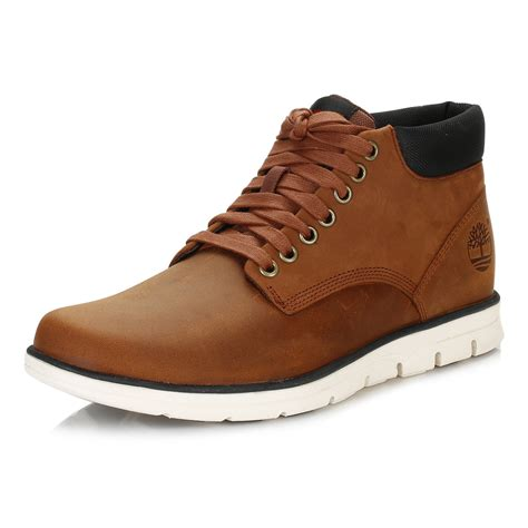timberland mens chukka boots brown bradstreet leather