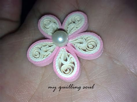 tutorial bunga quilling my quilling soul q008 nyuumy flower