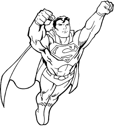coloring pages fun superman coloring pages