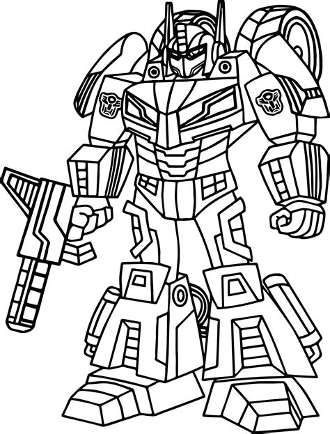 transformers brawl coloring pages coloring pages
