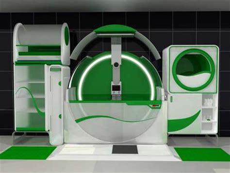 futuristic washrooms the hitech global bathroom is an