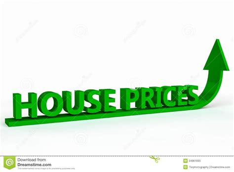 rising house prices stock illustration image  homestead