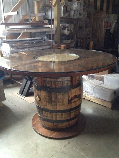 Keg Table by Wooden Barrel Table American Made Solid Wood Furniture