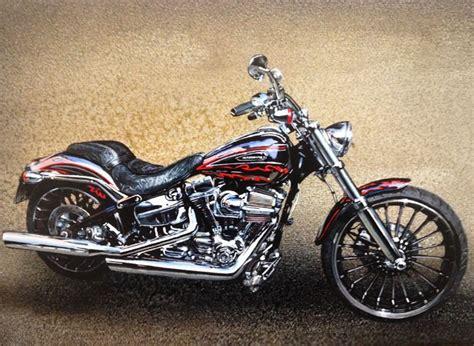 Motorrad Harley Berlin by Harley Davidsons Auftragsmalerei Kwast Berlin
