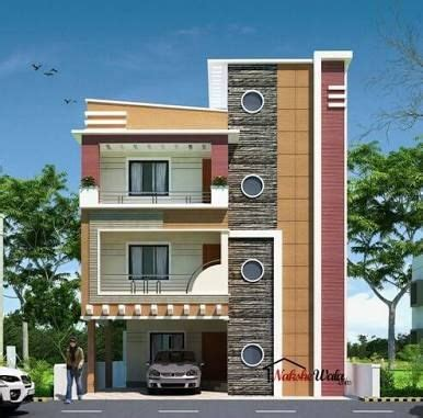front elevation designs  duplex houses  india google search real estates front