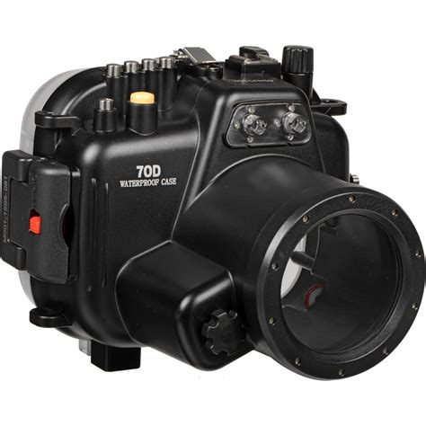 canon 70d polaroid underwater housing for canon eos 70d and plwpc70d b h