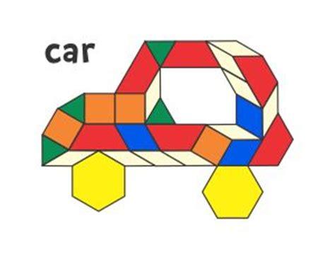 Pattern Block Mats by 1000 Ideas About Pattern Block Templates On