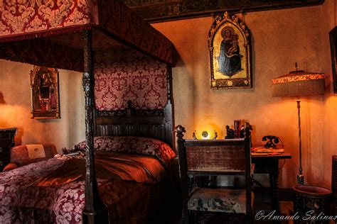 Castle Bedroom by Hearst Castle The Bedrooms Broken Window Photography