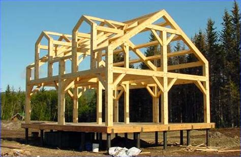 Timber Frame Cabin Plans by Alaska Timberframe Post Beam Homes Timber Frame