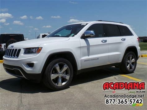 cherokee jeep 2016 white 2016 bright white jeep grand cherokee limited 112986355