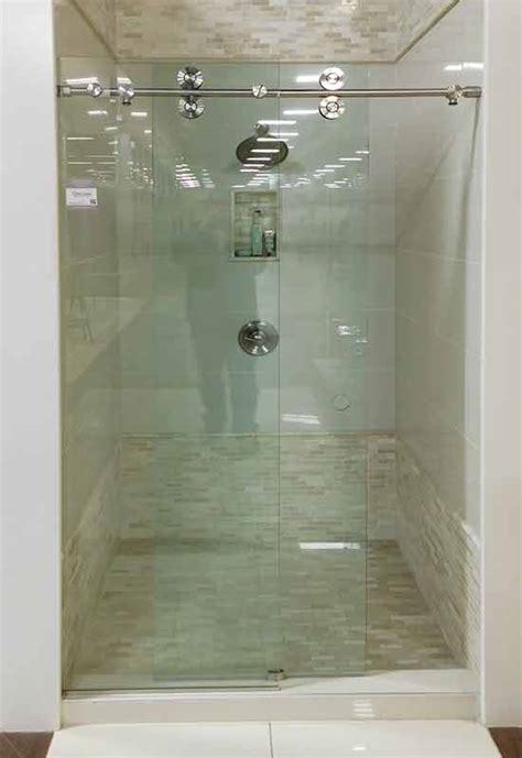Barn Door Shower Door Glass Shower Gallery Precision Glass Shower