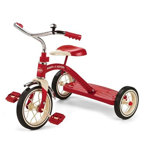 radio flyer 174 10 quot classic tricycle target