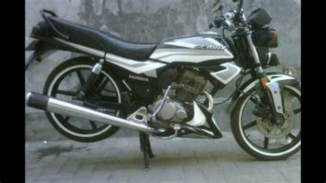 Striping Honda Gl 126 cah gagah modifikasi motor honda gl max ceper keren terbaru