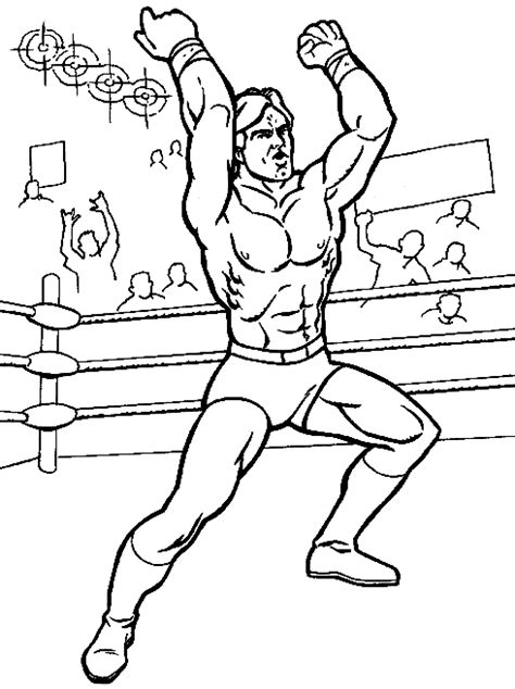 wrestling wwe coloring pages free and printable wrestling coloring pages for kids coloringpagesabc com