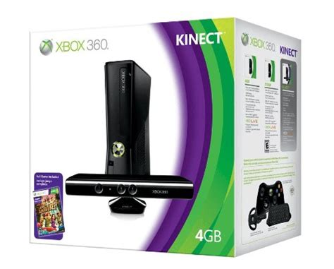 xbox 360 4gb console xbox 360 4gb console with kinect gamers network