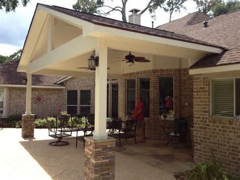 Covered Patio Traditional Patio Houston By Patio Design Houston