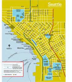 Map Of Seattle by Maps Update 700698 Seattle Washington Map Tourist 11