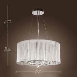 Chandeliers Crystals Brizzo Lighting Stores 22 Quot Web Modern Laser Cut Drum