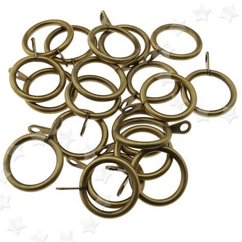 metall vorhang 20tlg metall vorhang ringe 25mm vorh 228 nge klammer gardinen