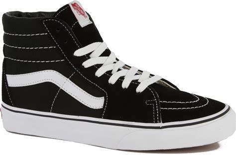 sk8 shoes vans sk8 hi skate shoes black free shipping