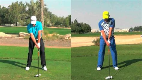 justin rose golf swing video justin rose v sergio garcia youtube