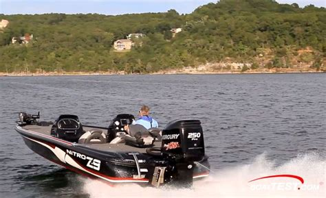 nitro bass boat girlfriend nitro z 9 our captain reported that going from 0 to 30 in