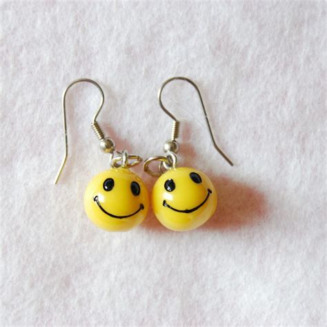 Smile Earrings smiley earrings