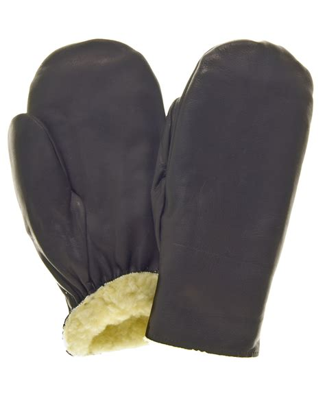 Cowhide Mittens s pullover cowhide leather mittens by raber gloves free usa shipping at leather gloves