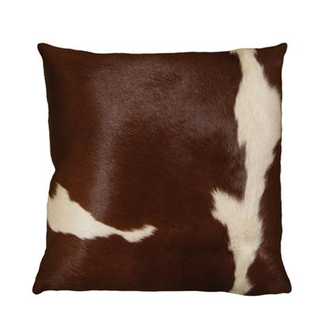 Cowhide Cushions cowhide and leather throw pillows