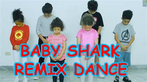 baby shark youtube remix baby shark remix kids dance youtube